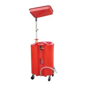 Установка для слива жидкостей WIEDERKRAFT WDK-89026, ёмкость 100 л. Ош