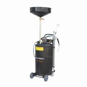 Установка для слива жидкостей WIEDERKRAFT WDK-89280, вакуумная вытяжная система, бак-70л. Ош