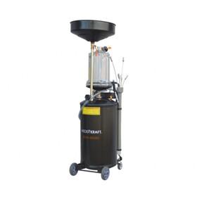 Установка для слива жидкостей WIEDERKRAFT WDK-89380, вакуумная вытяжная система, бак-70л. Ош