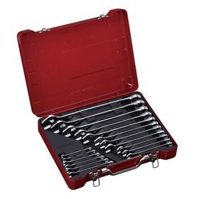 Набор комбинированных ключей BOVIDIX 380301801, 17 предметов, 6-32 мм, металлический бокс