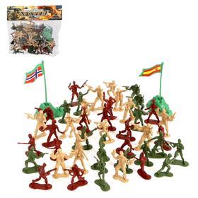 Набор солдатиков «Мировое сражение», с аксессуарами Ош