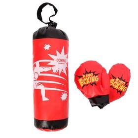 Детский боксёрский набор «Король бокса» Ош