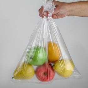 Пакеты для хранения продуктов, 30×40 см, 100 шт, цвет прозрачный Ош