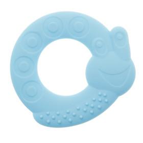 Прорезыватель силиконовый «Кольцо-улитка», цвет МИКС