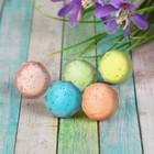 Мяч каучуковый «Кристалл», 2,8 см, цвета МИКС