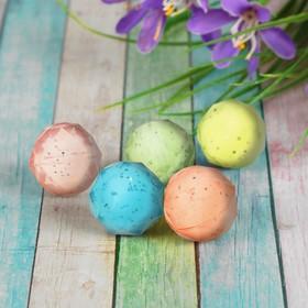 Мяч каучуковый «Кристалл», 2,8 см, цвета МИКС Ош