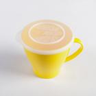 Чашка 360 мл, с крышкой, цвета МИКС - Фото 4