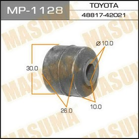 Втулка стабилизатора 'Masuma' (к-т 10 шт) MP1128 Ош