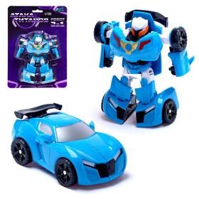Робот «Автобот», трансформируется, цвет синий