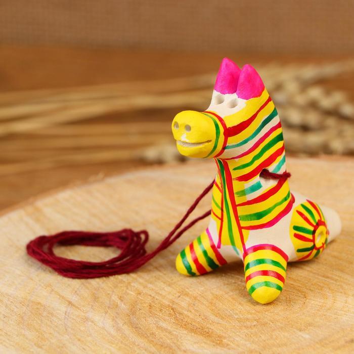 Филимоновская игрушка - свисток Лошадь