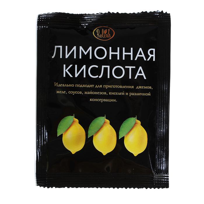 Лимонная кислота Relish, 10 г