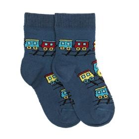 Носки детские, цвет джинсовый, размер 18-20