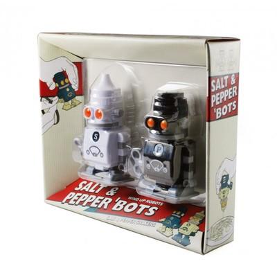 Заводные солонка + перечница 'bots - Фото 1