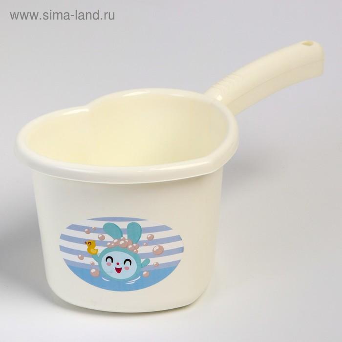 Ковш детский 1,5 л «Малышарики», цвета МИКС