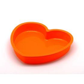 """Форма для выпечки """"Сердце"""", 23.6 х 22.6 х 3.8 см"""