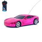 Машина радиоуправляемая «Ламбо», работает от батареек, цвет хром розовый