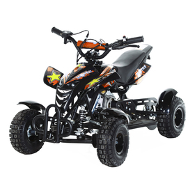 Мини-квадроцикл MOTAX ATV H4 mini-50 cc, черно-оранжевый