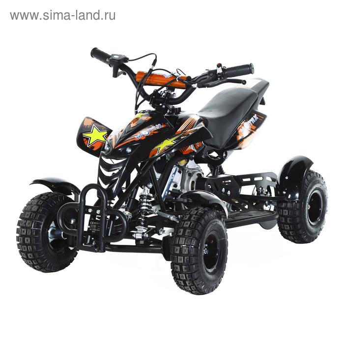 Мини-квадроцикл MOTAX ATV H4 mini-50 cc, черно-оранжевый
