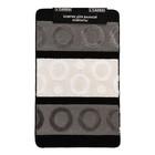 Коврик для ванной, LEMIS 50х80, цвет серый