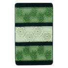 Коврик для ванной, HURREM 50х80, цвет зелёный