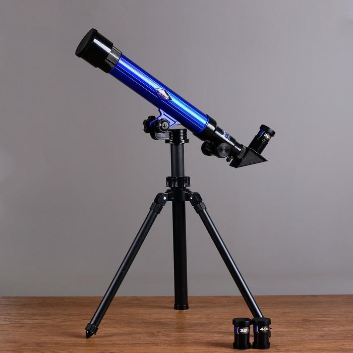 Телескоп настольный Обучение, съемные линзы 20х 30х 40х