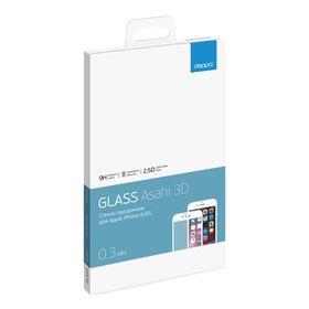 Защитное стекло DEPPA (61996) 3D для iPhone 6/6s, белое,  0,3мм
