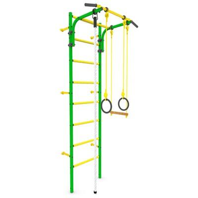 Детский спортивный комплекс «Атлет-1», ПВХ, цвет зелёный - Фото 1