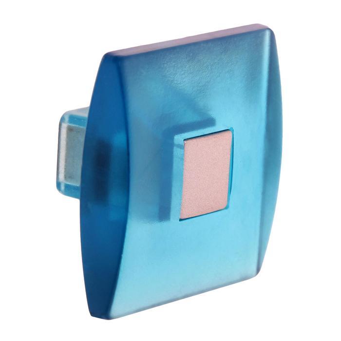 Ручка кнопка PLASTIC 003, пластиковая, синяя