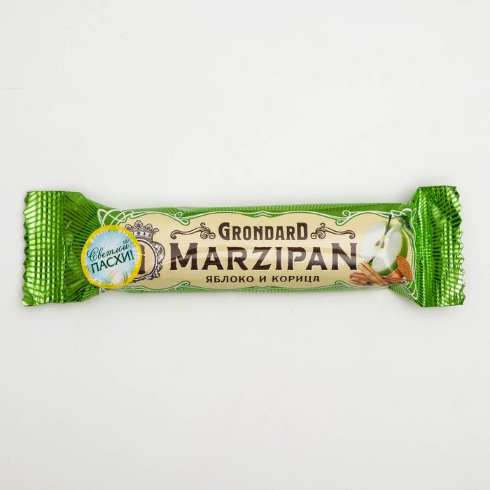 Батончик марципановый Grondard «Яблоко и корица», 50 г