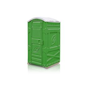 Туалетная кабина, разборная, 1.15 × 1.11 × 2.22 м, на выгребную яму, зелёная, «Дачник» Ош