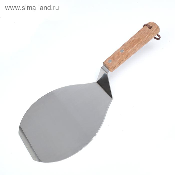 Лопатка для пиццы и коржей d=16,5 см