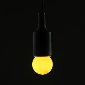 Лампа светодиодная декоративная Luazon Lighting, G45, 5 SMD2835, для белт-лайта, желтый Ош