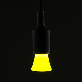 Лампа светодиодная декоративная Luazon Lighting 'Фонарик', 5 SMD2835, для белт-лайта, желтый Ош