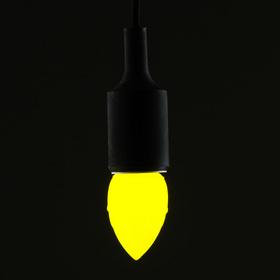 Лампа светодиодная декоративная LuazON «Шишка», 5 SMD 2835, жёлтый свет