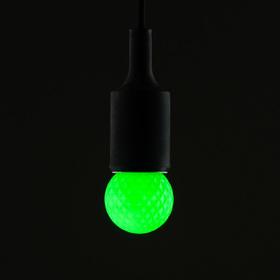 Лампа светодиодная декоративная Luazon Lighting, G45, 5 SMD2835, для белт-лайта, зеленый Ош