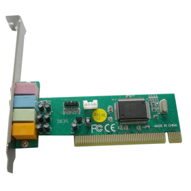Звуковая карта PCI 8738 (C-Media CMI8738-SX) 4.0 bulk Ош