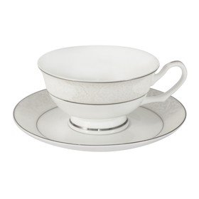 Набор 12 предметов «Мелисента»: 6 чашек, 6 блюдец