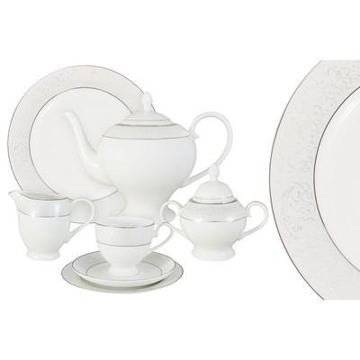 Чайный сервиз «Мелисента» 40 предметов на 12 персон - Фото 1