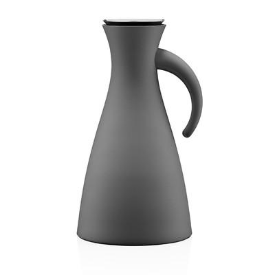 Термокувшин Vacuum, тёмно-серый, матовый, 1 л