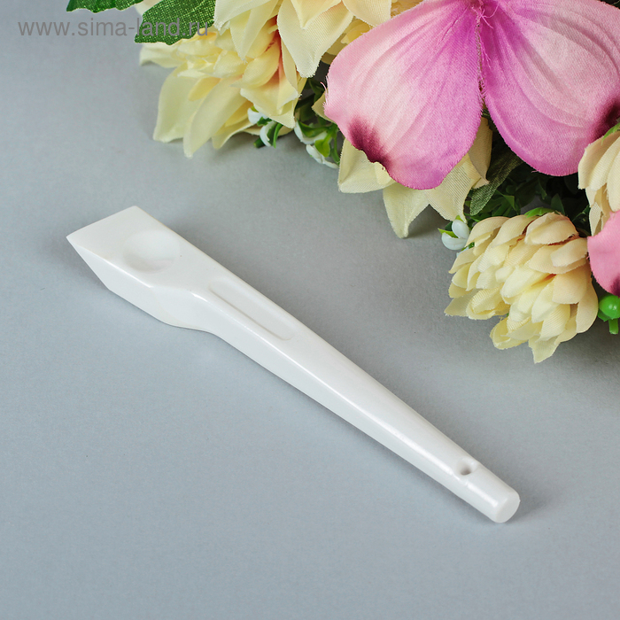 Приспособление для разглаживания швов и загибов, цвет белый