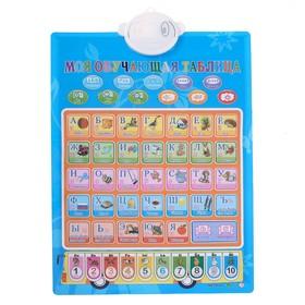 Обучающий электронный плакат «Учимся, играя», 10 функций Ош