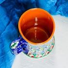 Бокал керамический, 0,5 л, микс - Фото 4