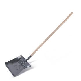 Лопата оцинкованная детская, с деревянным черенком