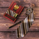 Подарочный набор: галстук и ручка