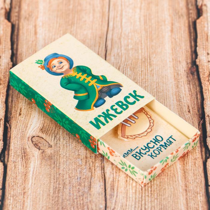Магнит-спичечный коробок Ижевск