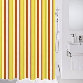 Штора для ванной комнаты 180х200 см, Flag stripe
