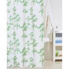 Штора для ванной комнаты 200х200 см bamboo leaf
