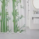 Штора для ванной комнаты 180х180 см, Bamboo (green)