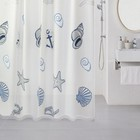 Штора для ванной комнаты 180х180 см, Sea Fantasy