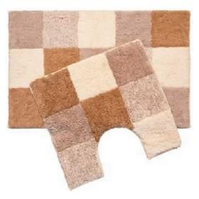 Набор ковриков для ванной комнаты 50х80, 50х50 см, Hopscotch